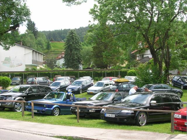 VW Amarok am Wörthersee VW Pickup-Sondermodell beim GTI-Treffen