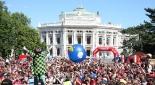Scoutworld 2007 - ein letzter ganz großer Auftritt von Enrico: Heinz Zuber vor 10.000 Kindern, Jugendlichen und Erwachsenen
