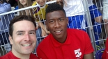 Philipp Pertl und David Alaba