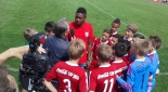 David Alaba wird interviewed