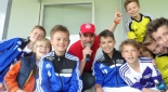 Philipp Pertl mit Kindern