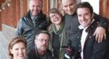 Geschäftsführerin der Möwe Hedwig Wölfl, Dr. Michael Neugebauer, Philipp Pertl und das BMI-Team