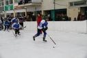 Einlaufen der Spieler der Mannschaft Eisbrecher Klosterneuburg