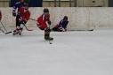 Voll im Geschehen des Eishockeyspieles - KIC Rot vs. KIC Blau