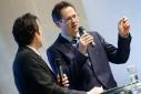 Dr. Rainer Trefelik, Spartenobmann, Sparte Handel der WKW, im Gespräch mit Philipp Pertl