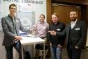 """Das Team der """"Mimke GmbH"""", Kontaktperson: Stefan Kienberger"""