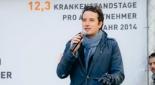 Philipp Pertl als Moderator