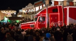 Coca-Cola-Weihnachtstruck am Riesenradplatz