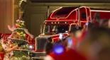 Der Weihnachtsmann im Coca-Cola Weihnachtstruck, Copyright © Coca Cola Company