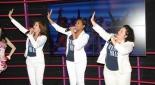 Susa Meyer, Jacqueline Braun und Anna Milva Gomez beim singen