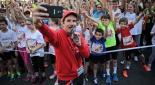 Philipp Pertl mit Läufern