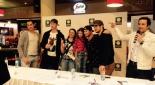 Bilder mit den Fans