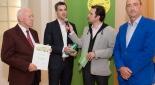 Kurt Bergmann, XXXLutz Mag. Christian Mitterhauser, Philipp Pertl & GF Fundraising Austria Günther Lutschinger