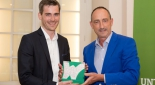 XXXLutz Mag. Christian Mitterhauser, GF Fundraising Austria Günther Lutschinger