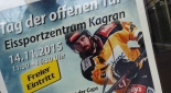 Plakatt Tag der offenen Tür bei der UPC Vienna Capitals