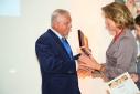 Fundraising Award 2016 - Übergabe an den Fundraiser des Jahres Franz Küberl, CARITAS-Präsident