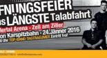 Banner für Eröffnungsfest der längsten Talabfahrt Österreichs - Quelle: https://www.zillertalarena.com/de/arena/winter/eroeffnungsfest-talabfahrt-zell-am-ziller.html?bl=/de/arena/winter/start_winter.html
