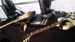 Die Instrumente der Band TAGTRAEUMER