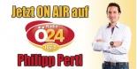Philipp Pertl live bei Radio Ö24