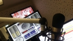 Im Studio des Radio Ö24