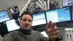 Philipp Pertl im Studio des Radio Ö24