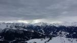 Panorama über die Berge