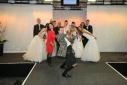 Philipp Pertl beim Selfie machen mit den Models und der Veranstallterin der Hochzeitsmesse