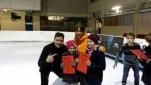 Philipp Pertl mit Claudia Kristofics-Binder und dem Team des dritten Platzes