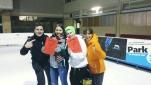 Philipp Pertl mit Claudia Kristofics-Binder und dem Team des zweiten Platzes