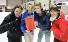Gewinner der Publikums-Challenge mit Philipp Pertl und Claudia Kristofics-Binder