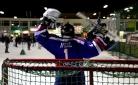 Eishockey-Torwart Neil vom WEV