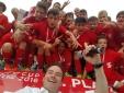CCC2016 - Bundesfinale in Wien, Philipp Pertl mit der Siegermannschaft