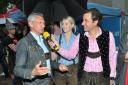 1.WienerTrachtenbungee - Philipp Pertl im Interview mit Bert Copar (Donauturm)