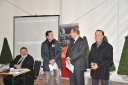 Eventmoderator Philipp Pertl bei der Preiverleihung des Bahnkulturpreises