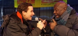 Charly Armstrong mit Philipp Pertl am Skiopening im Nassfeld